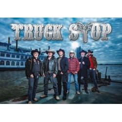 Poster Truck Stop vor der...