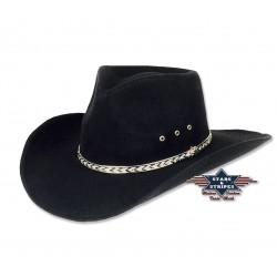 Cowboyhut KANSAS Black