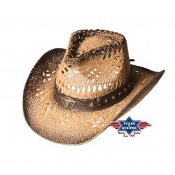 Cowboyhut SUNSET Stroh